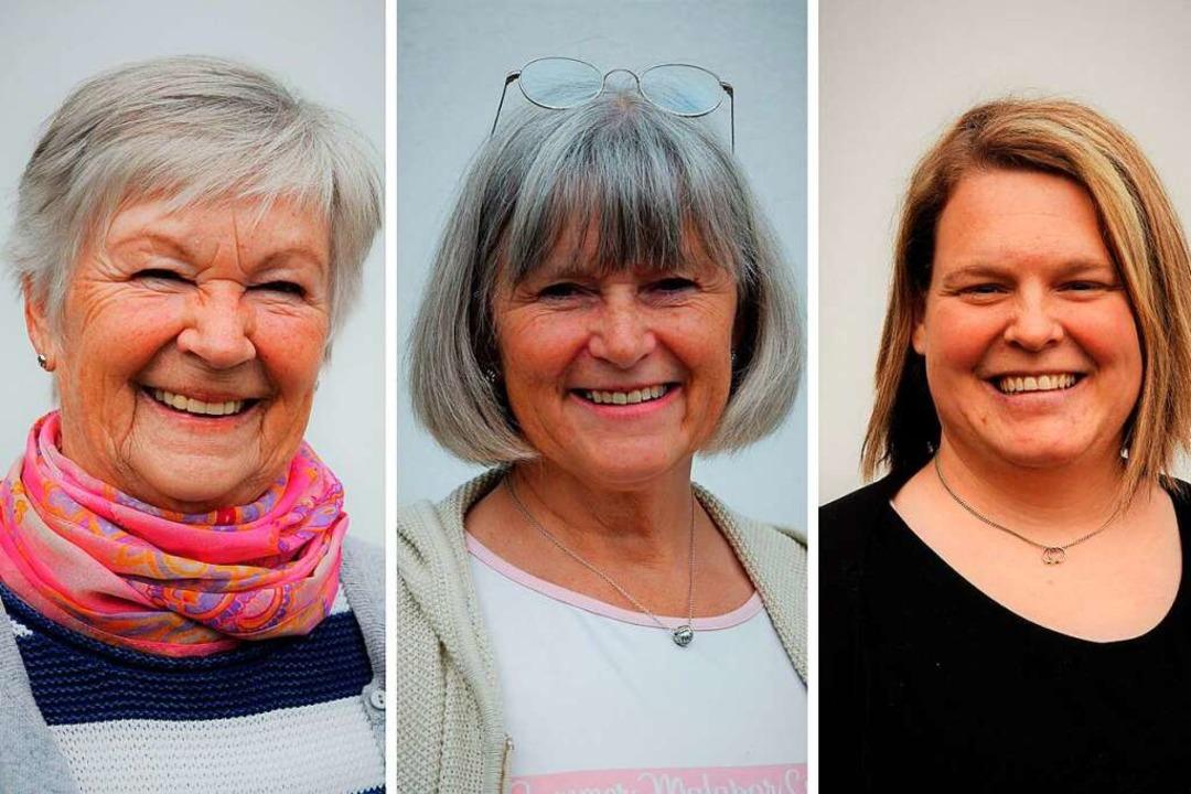 Helga Steurenthaler, Monika Steurentha...d Lisa Profazi (von links nach rechts)  | Foto: Kathrin Blum