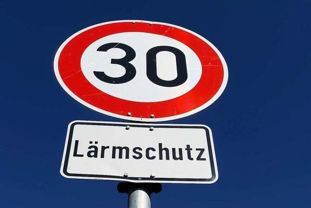 In der Ortsdurchfahrt Sexau werden Tempo-30-Zonen angelegt