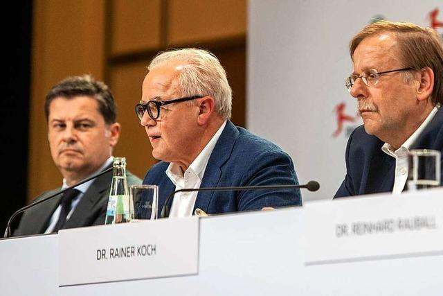 Seifert gegen Koch: Konflikt der Fußball-Funktionäre weitet sich aus