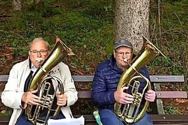 Musik im Wald