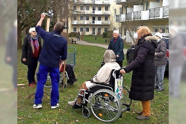 Künftig betreuen die Senioren die Bäume