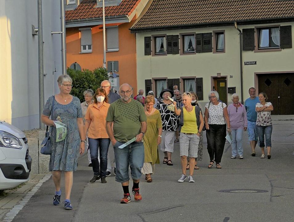 """Ob die Steinener über den """"Brück...n Bürgerspaziergängen im Sommer 2020?     Foto: Martina David-Wenk"""