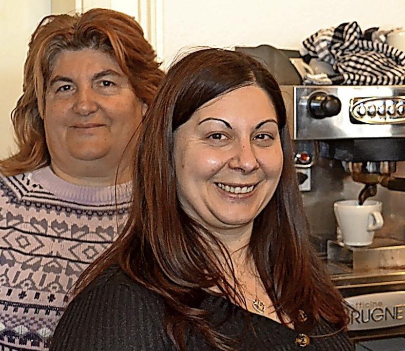 Vincenza (links) und Nicoletta Forestiere     Foto: Liane Schilling