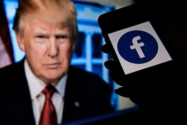 Facebook durfte Trump-Konto sperren – aber nicht unbegrenzt