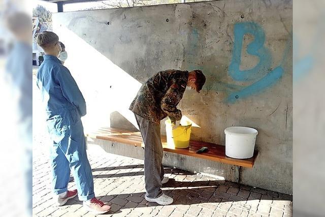 Jugendliche erfahren mehr über Graffiti-Kunst