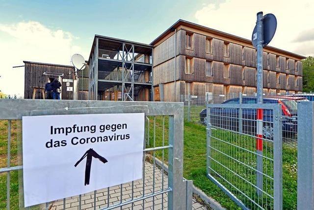 40 Prozent der Geflüchteten in Freiburger Wohnheimen sind geimpft