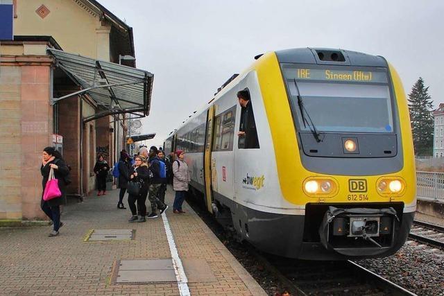Elektrifizierung der Hochrheinbahn liegt im Zeit- und Kostenplan