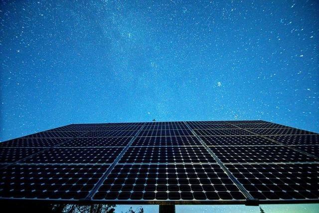 Ob der geschenkte Solarpark Gersbach kommt, steht noch in den Sternen
