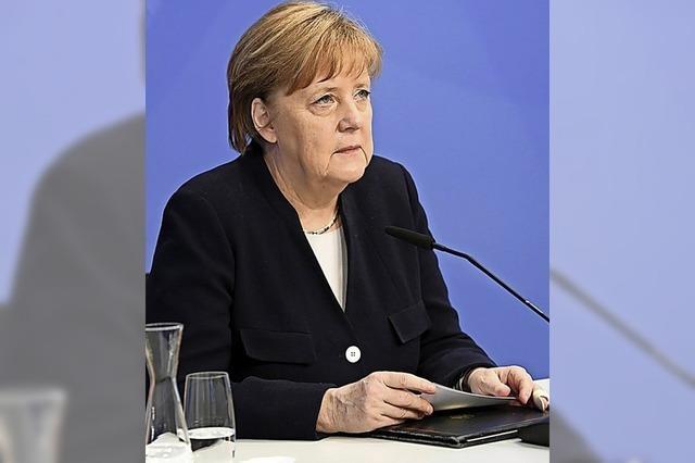 Merkel: Ewige Verantwortung Deutschlands