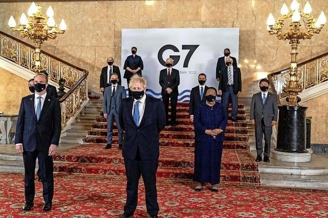 Corona beeinträchtigt G7-Treffen