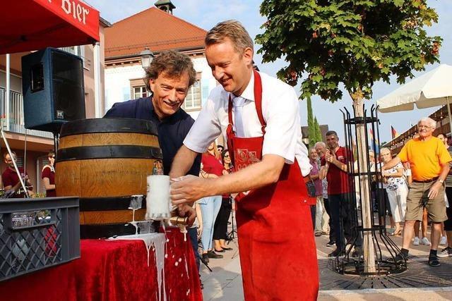 In Ringsheim besteht Hoffnung auf ein kleines Wein- und Gassenfest