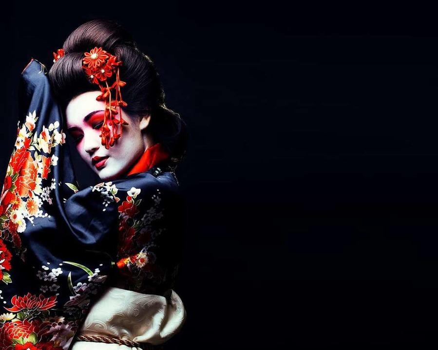 Geishas sind in Japan ein beliebtes Fotomotiv bei Touristen.  | Foto: iordani (stock.adobe.com)