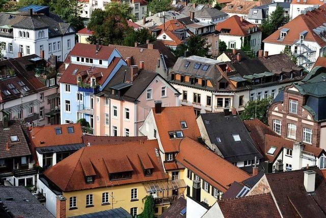 Wohnen bleibt in Freiburg so richtig teuer