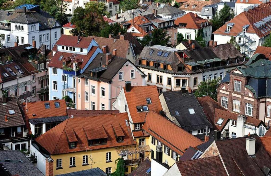 In der Freiburger Altstadt sind die Preise am höchsten    Foto: Thomas Kunz