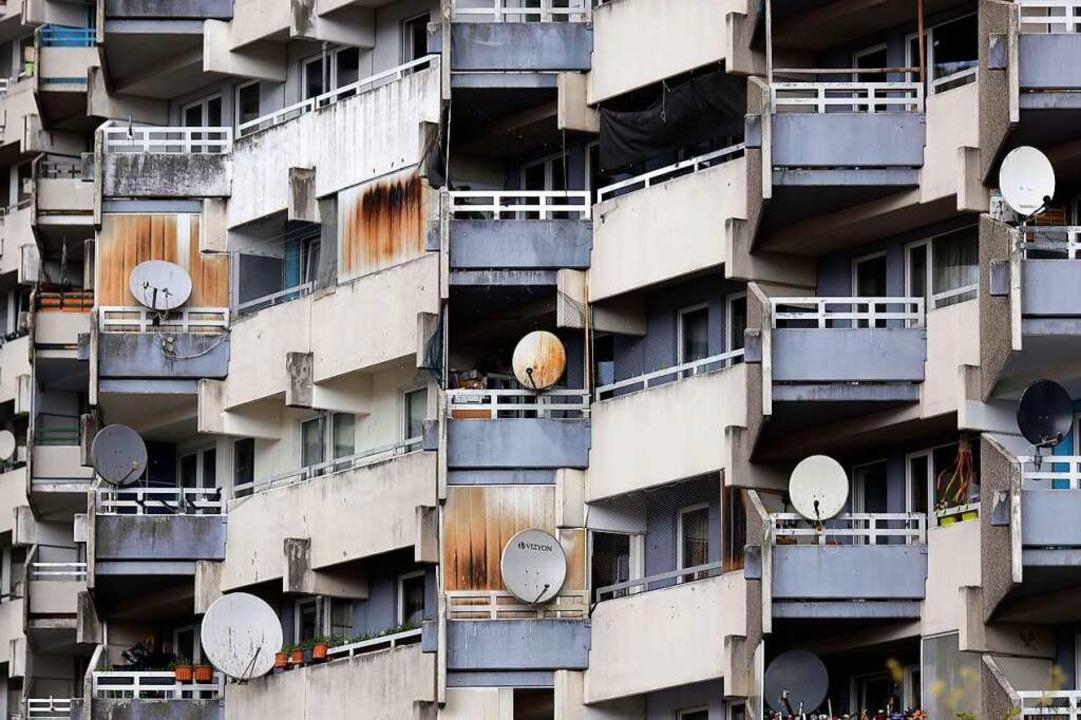 In sozial schwachen Wohnvierteln sind auch die Impfquoten schwächer.  | Foto: Christoph Hardt via www.imago-images.de