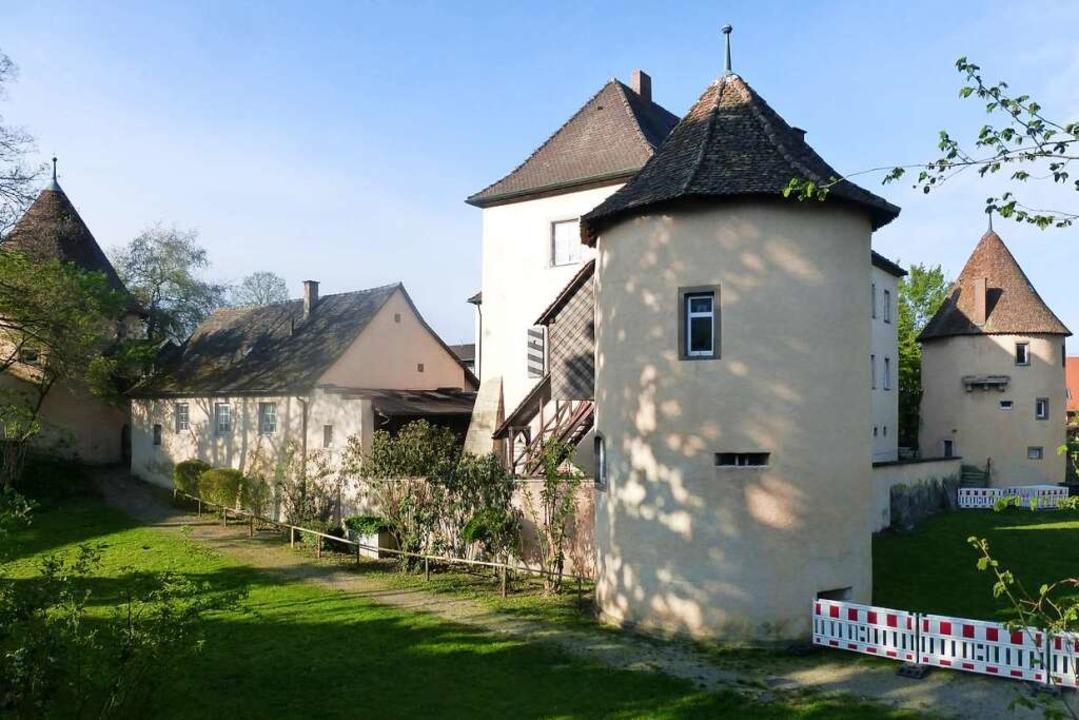 Das Schloss in Kirchhofen soll bei den...pielen als historische Kulisse dienen.    Foto: Andrea Gallien