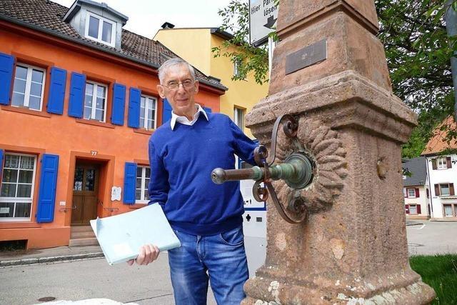 Ein Brite will das Wissen über die Schopfheimer Brunnen retten