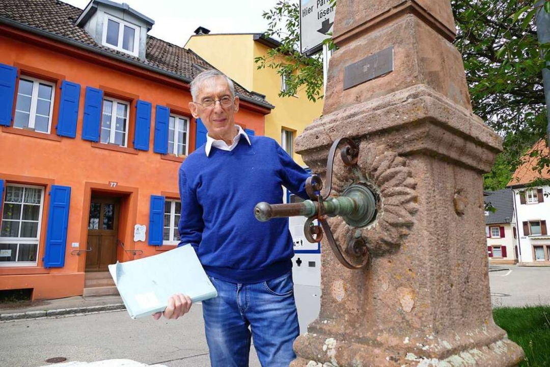 Besorgt ist Robert Bartlett, dass   di...hiert er jetzt und hofft auf Mithilfe.  | Foto: André Hönig