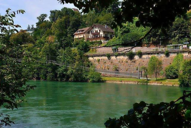 Stege und Brücken statt Treppen auf der Laufenburger Acht