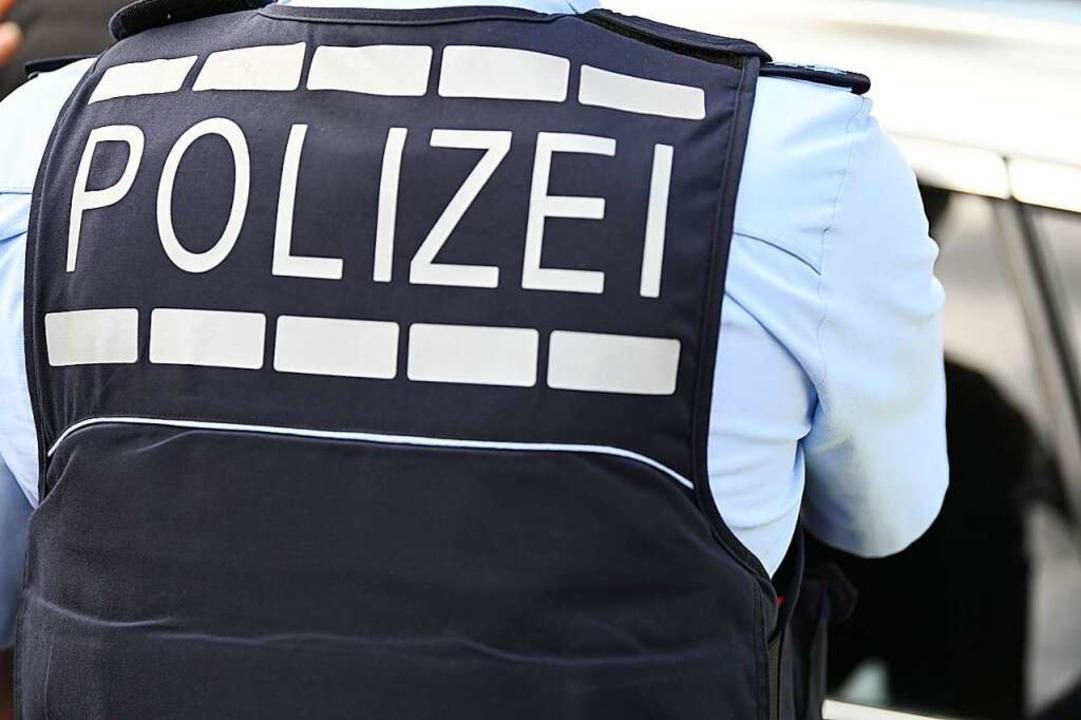 Einsatz für die Polizei in der Lörracher Innenstadt (Symbolbild).    Foto: Jonas Hirt
