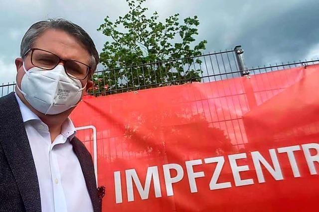 Grenzach-Wyhlens Bürgermeister ließ sich bewusst mit Astrazeneca impfen