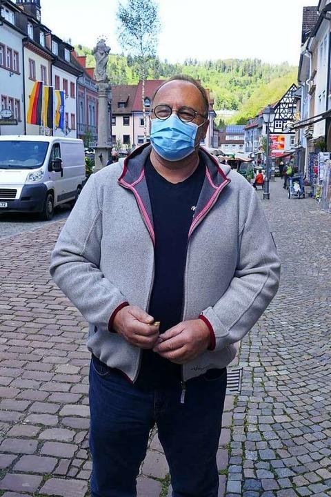 Mario Ritter (67), Elzach: Wo es sinnv...werden, zieht auch die Industrie nach.  | Foto: Savanna Cosma