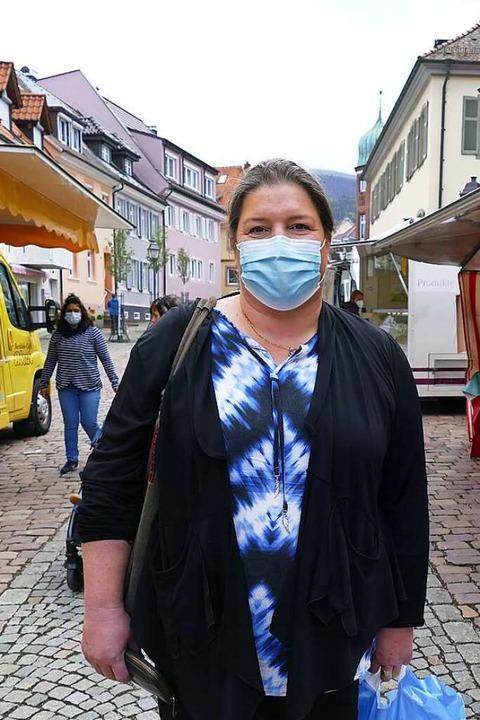 Silke Lanninger (47), Waldkirch: Ich a... für den Klimawandel bereit zu machen.  | Foto: Savanna Cosma