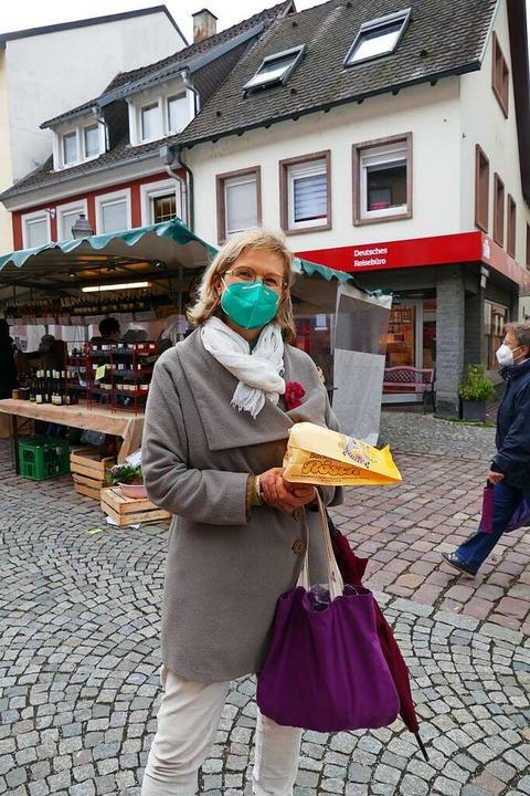 Susanne Banholzer (59), Gutach: Wenn i...en Köpfen der Menschen angekommen ist.  | Foto: Savanna Cosma