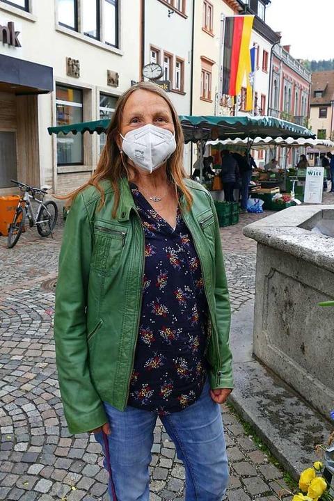 Anna Ladwig (66), Waldkirch: Für das K...angen, dann bekommen wir das auch hin.  | Foto: Savanna Cosma
