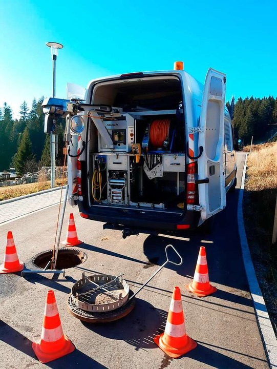 Mit diesen Geräten wird der Abwasserse...rbacher TV-Kanalbefahrung durchführen.  | Foto: Firma P. Weiß