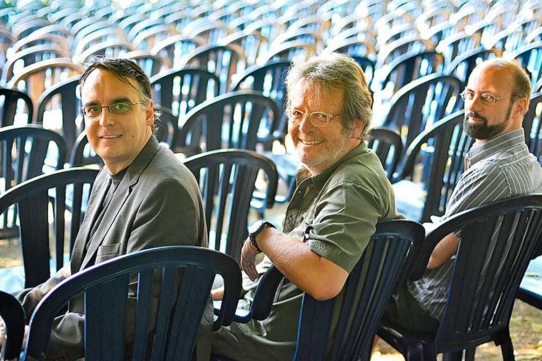 Der langjährige Kinobetreiber Michael ...e (links) und Ludwig Ammann (rechts).   | Foto: Michael Bamberger