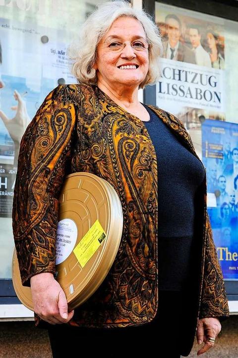 Sie war 55 Jahre lang mit im Boot im T...m Friedrichsbau-Kino: Gabriele Bürgel.  | Foto: Thomas Kunz