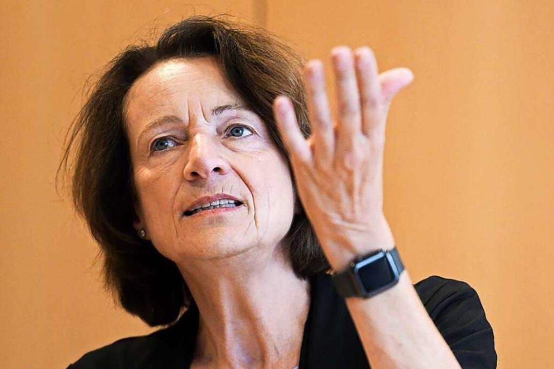 Dagmar Freitag, die Vorsitzende des Sportausschusses im Bundestag  | Foto: Fabian Strauch (dpa)
