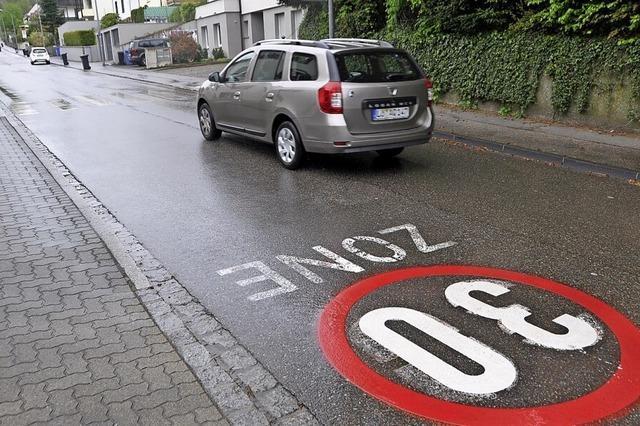 Grüne wollen auch im Steinenweg in Stetten Tempo 30