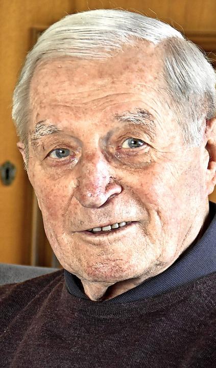 Alfred Spitzer wird heute 90 Jahre alt.   | Foto: Maja Tolsdorf