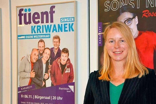Kulturamtsleiterin Henrike Fuder verlässt Rheinfelden nach einem Jahr