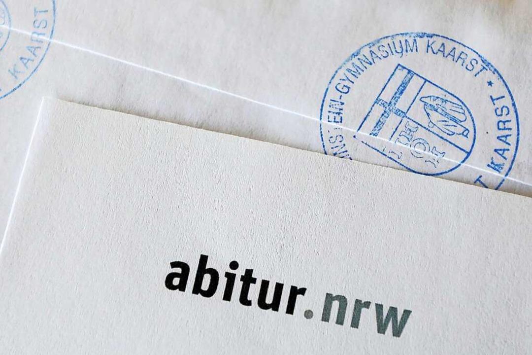 Ein Text des Freiburger Journalisten M... im Deutsch-Abi in Nordrhein-Westfalen    Foto: Oliver Berg (dpa)