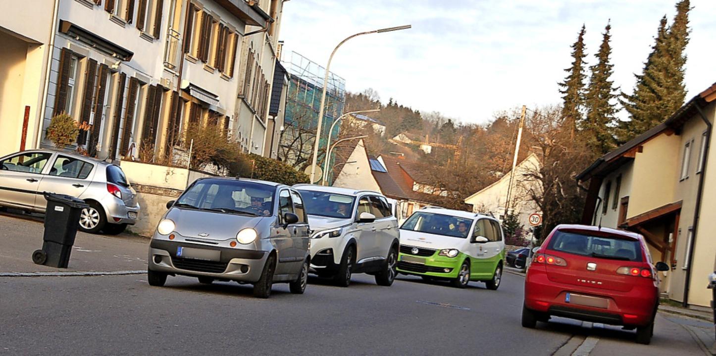 Der Nollinger Stadtteilbeirat pocht au...po 30 auf der ganzen Beuggener Straße.  | Foto: Petra Wunderle