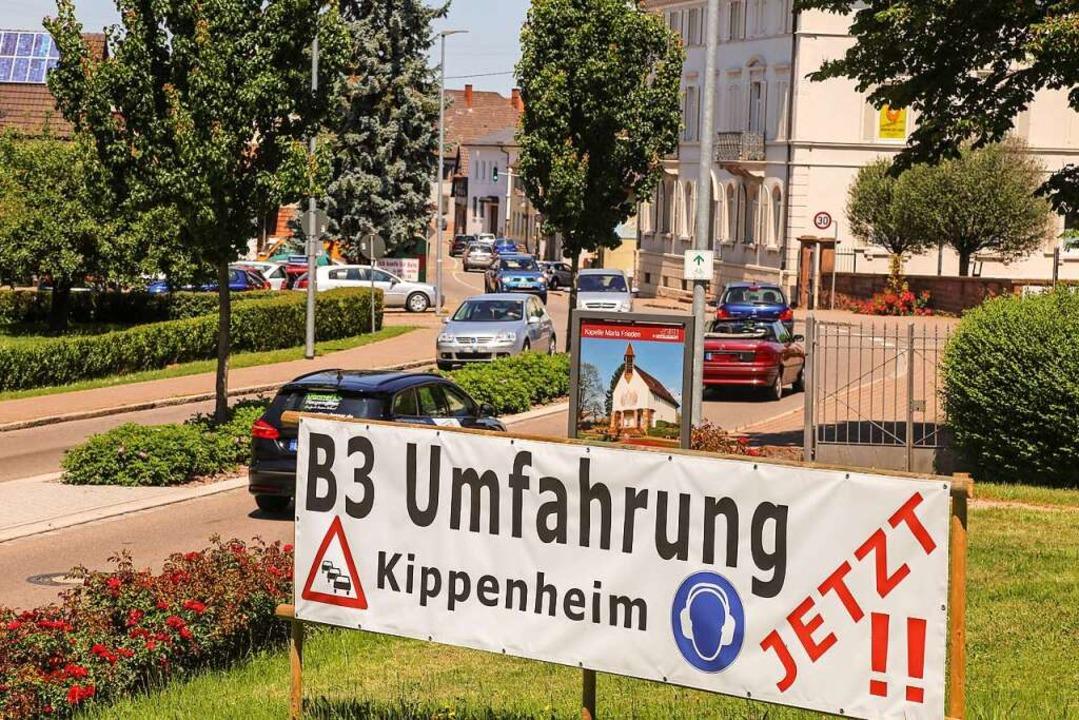 Die Bürgerinitiative aus Kippenheim ha... Es wird eine Entlastung der B3 geben.  | Foto: Sandra Decoux-Kone