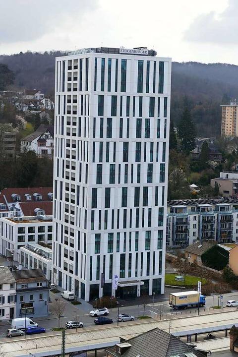 Das Steigenberger-Hotel  | Foto: Peter Gerigk