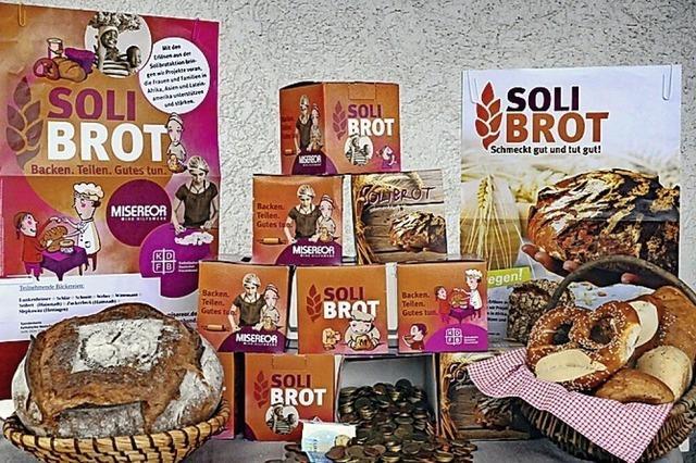 Spenden durch Kauf von Solibrot