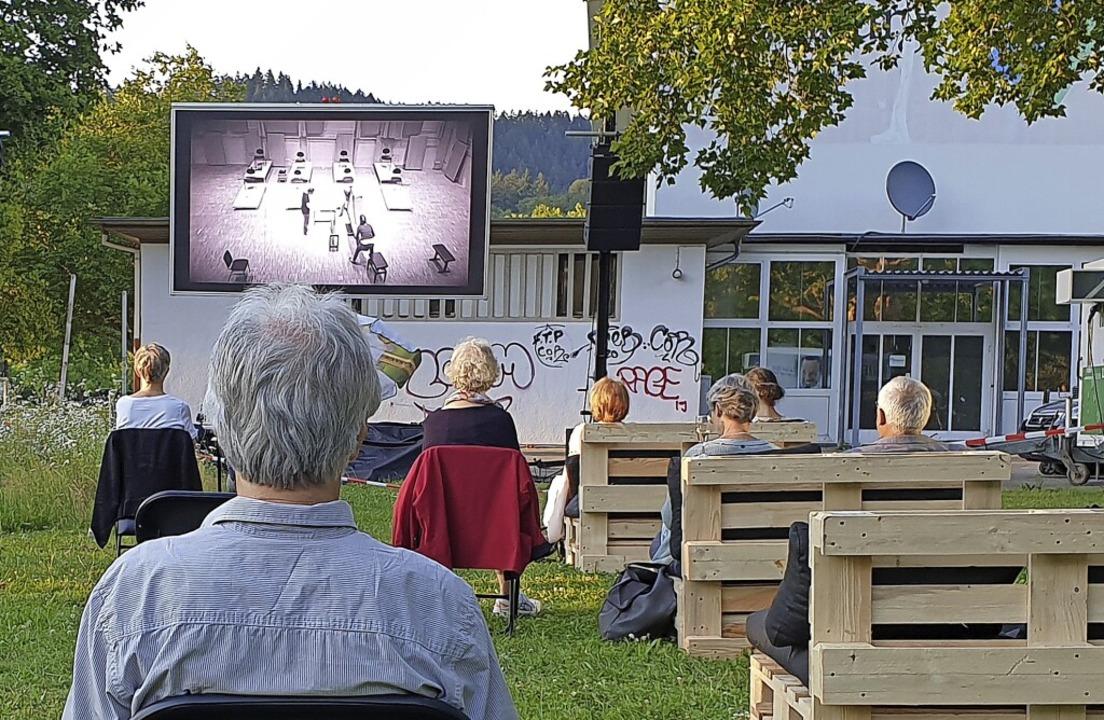 Kultur im Freien: Abendkonzert des Fre...hesters beim Sommerklang im Juli 2020.  | Foto: Alexander Dick