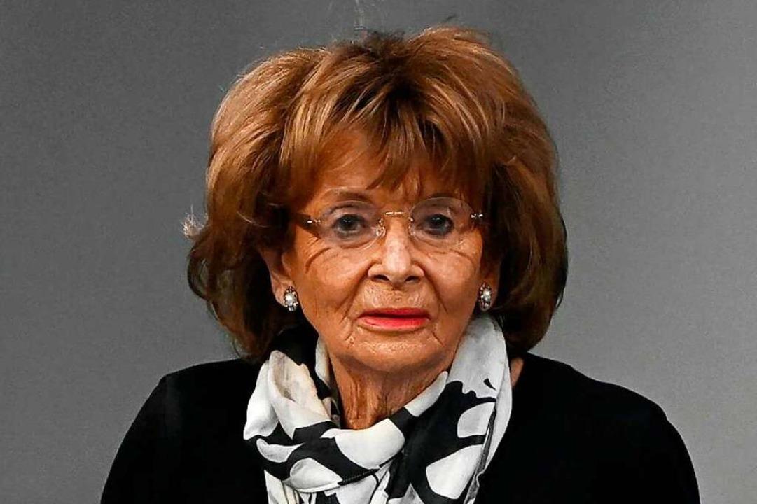 Ehemalige Präsidentin des Zentralrats ...uden in Deutschland Charlotte Knobloch  | Foto: TOBIAS SCHWARZ (AFP)