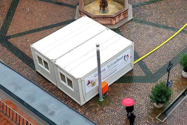 In Freiburg gibt es fast 40 Testzentren – die kaum kontrolliert werden