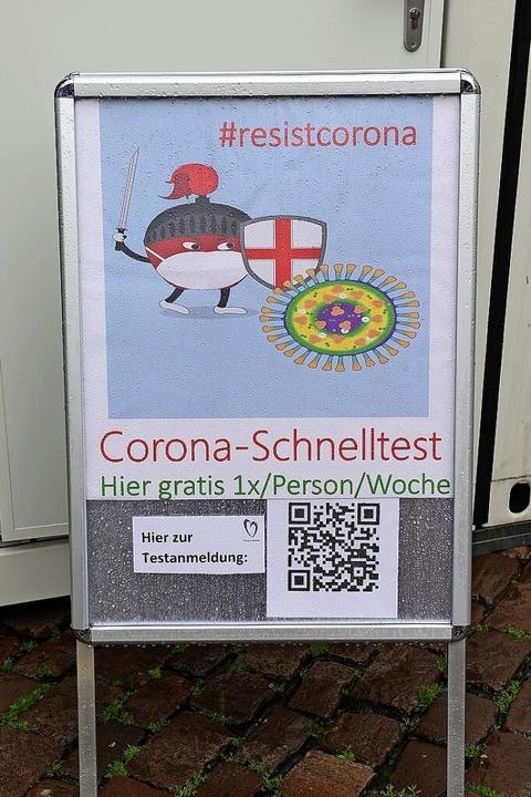 Kein Anstehen mehr für Schnelltests in Freiburg: Es gibt fast 40 Testzentren    Foto: Ingo Schneider
