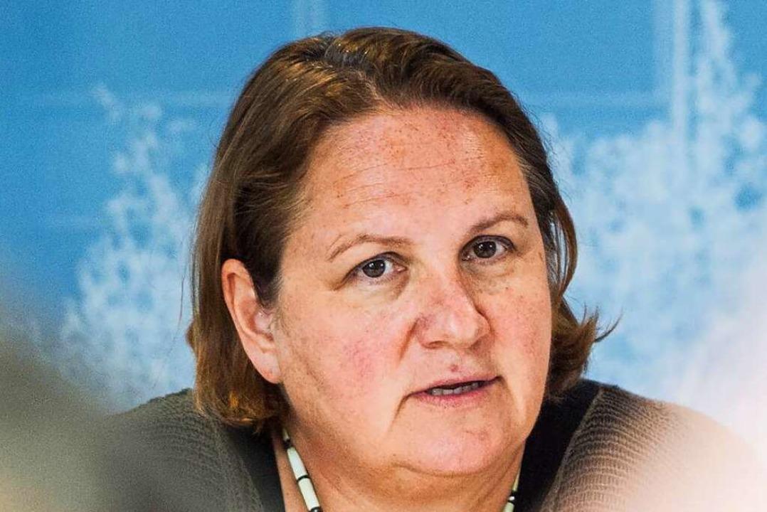 Im Gespräch für das  Kultusministerium: die Grüne Theresa Schopper  | Foto: Lino Mirgeler