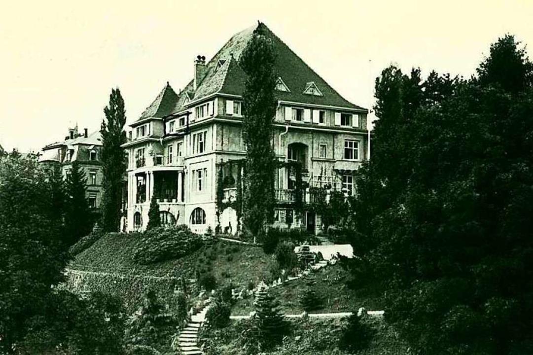 Das ist die Villa Tannenhof an der Mer...r Verwaltung des Lorettokrankenhauses.    Foto: Privat