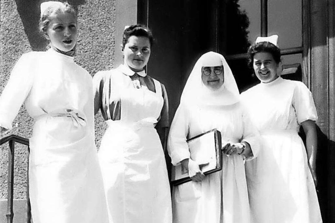 Loretto-Mitarbeiterinnen in der Nachkriegszeit    Foto: privat