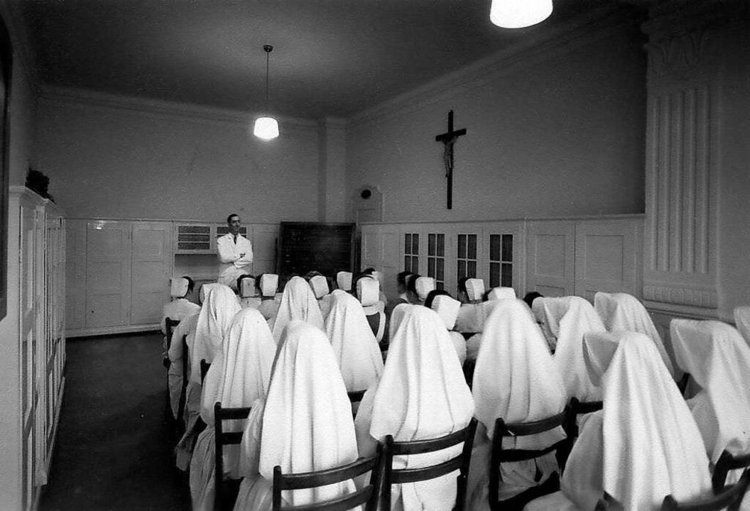 Die Schwestern vom Heiligen Josef gründeten das Krankenhaus vor 100 Jahren.    Foto: Privat