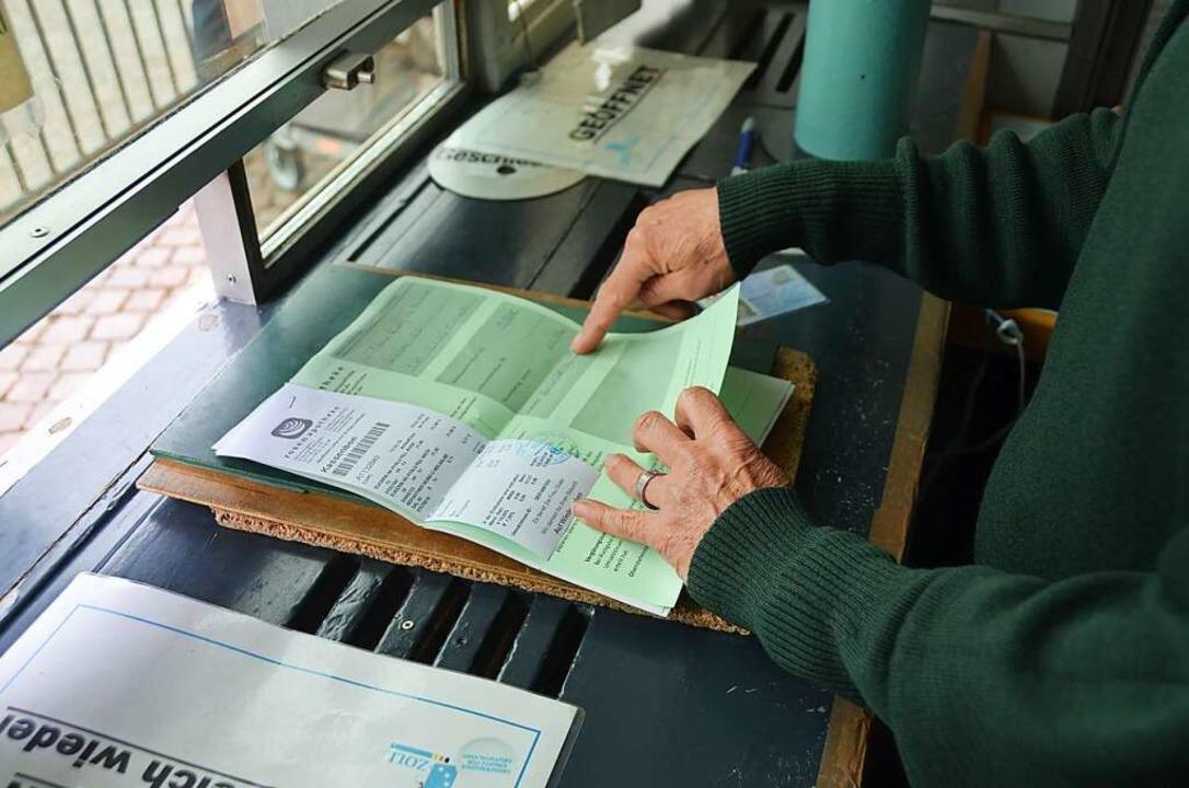 Die Bagatellgrenze wirkt sich auf die Ausfuhrbescheinigungen aus  | Foto: Ingrid Böhm-Jacob